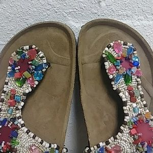 c00ca362bdc5 Maliparmi Shoes - NWOT MALIPARMI Beaded sandals. Made in Italy. S37